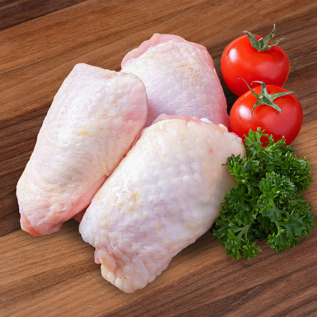 DAYLESFORD ORGANIC UK Chilled Organic Chicken Thigh Bone In  (350g)