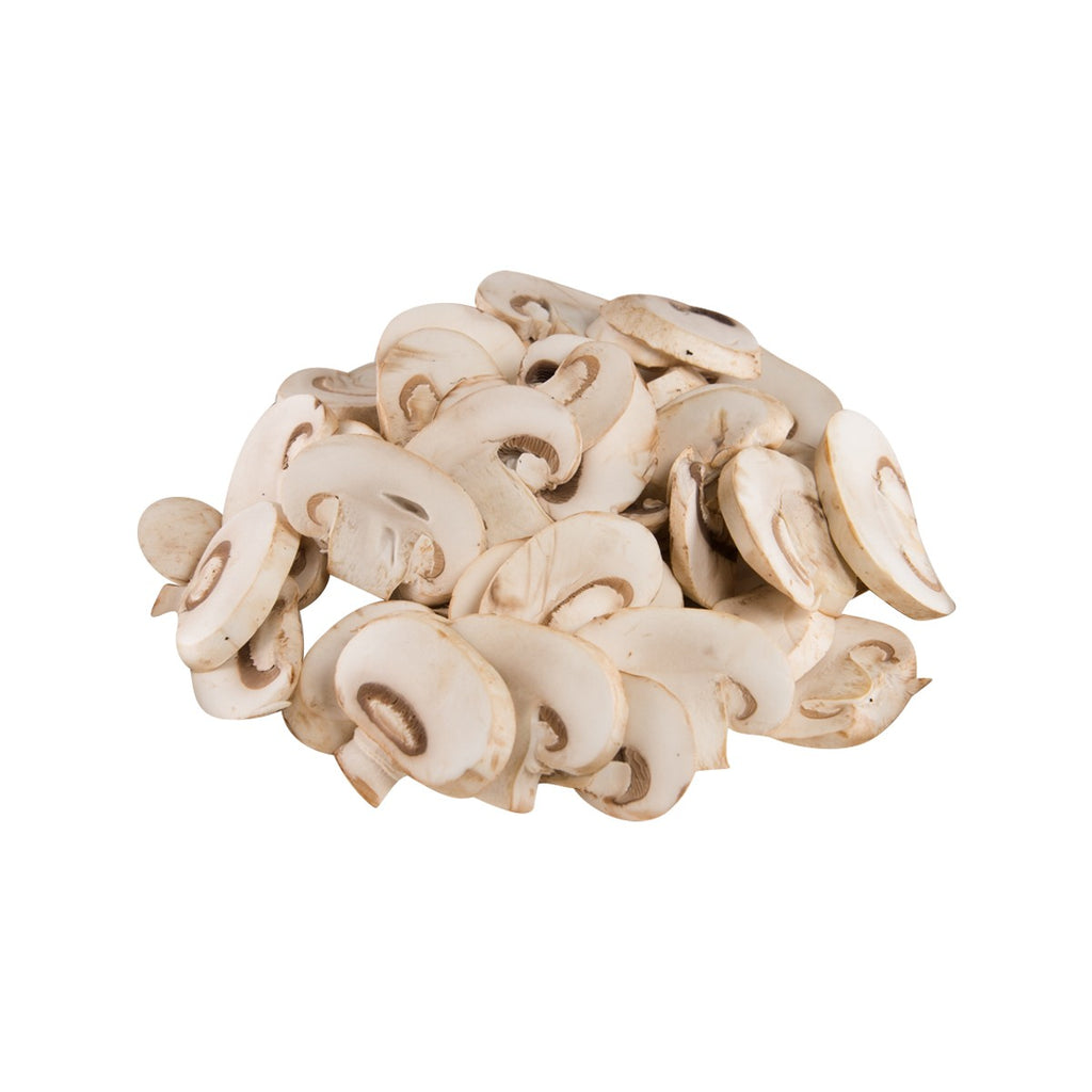 FRESH PLEASE Australia Sliced White Mushrooms  (250g)