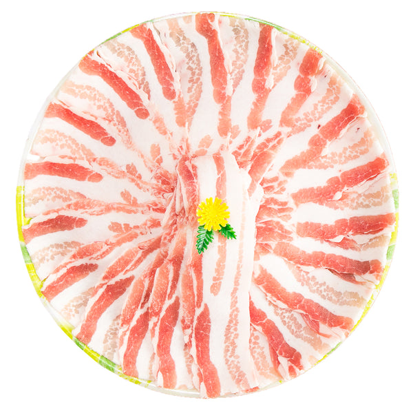 Danish Organic Pork Belly - Shabu Shabu (L) [Previously Frozen](500g)