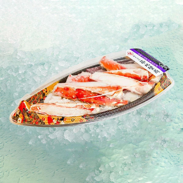 Boiled Taraba Crab Leg [Previously Frozen]  (1pack)