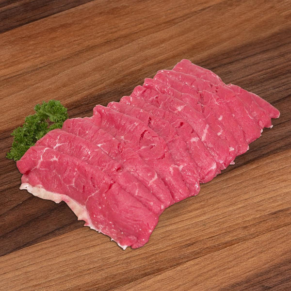 Australian Chilled Organic Beef Striploin for Sukiyaki  (200g)