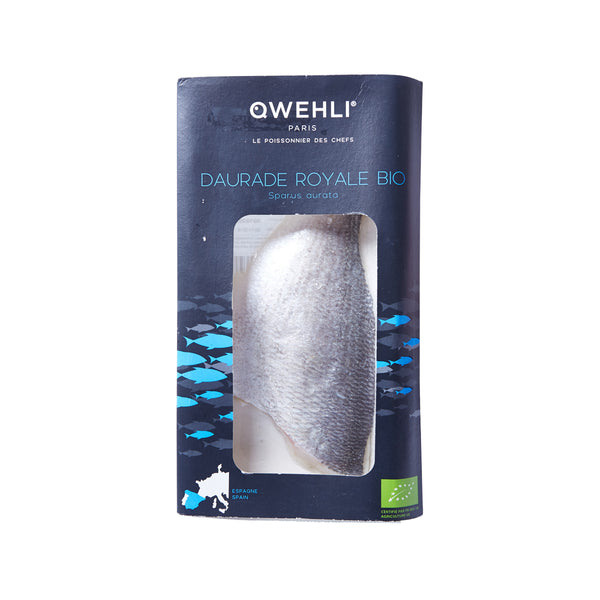 QWEHLI Frozen Organic Gilthead Sea Bream Fillet  (100g)