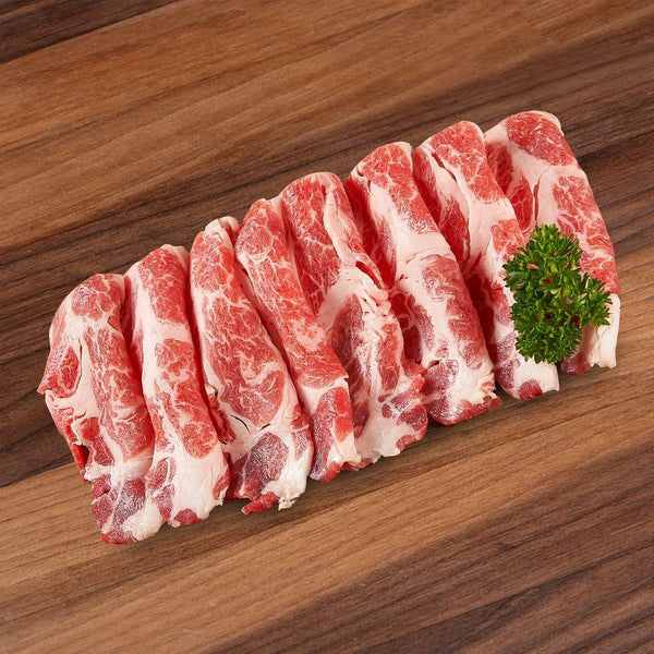 Spainsh Organic Iberico Pork For Sukiyaki [Previously Frozen]  (300g)