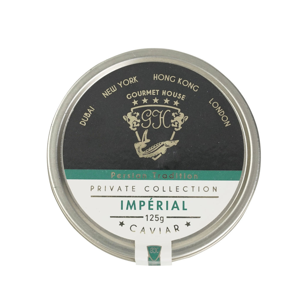 GOURMET HOUSE Farmed Oscietra Imperial Caviar  (125g)