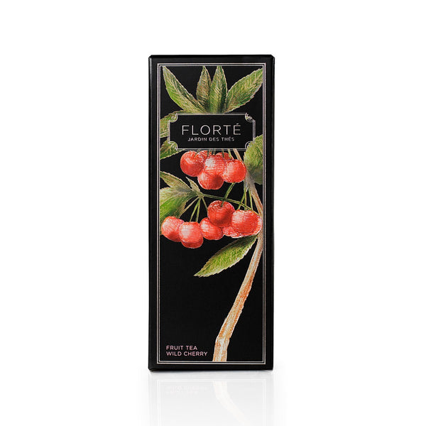 FLORTE Fruit Tea - Wild Cherry  (120g)