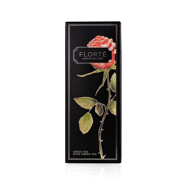 FLORTE Green Tea - Rose Green Tea  (120g)