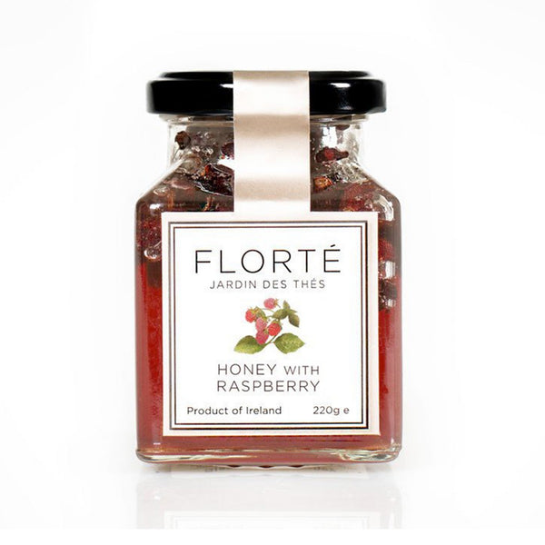 FLORTE Honey With Raspberry  (220g)