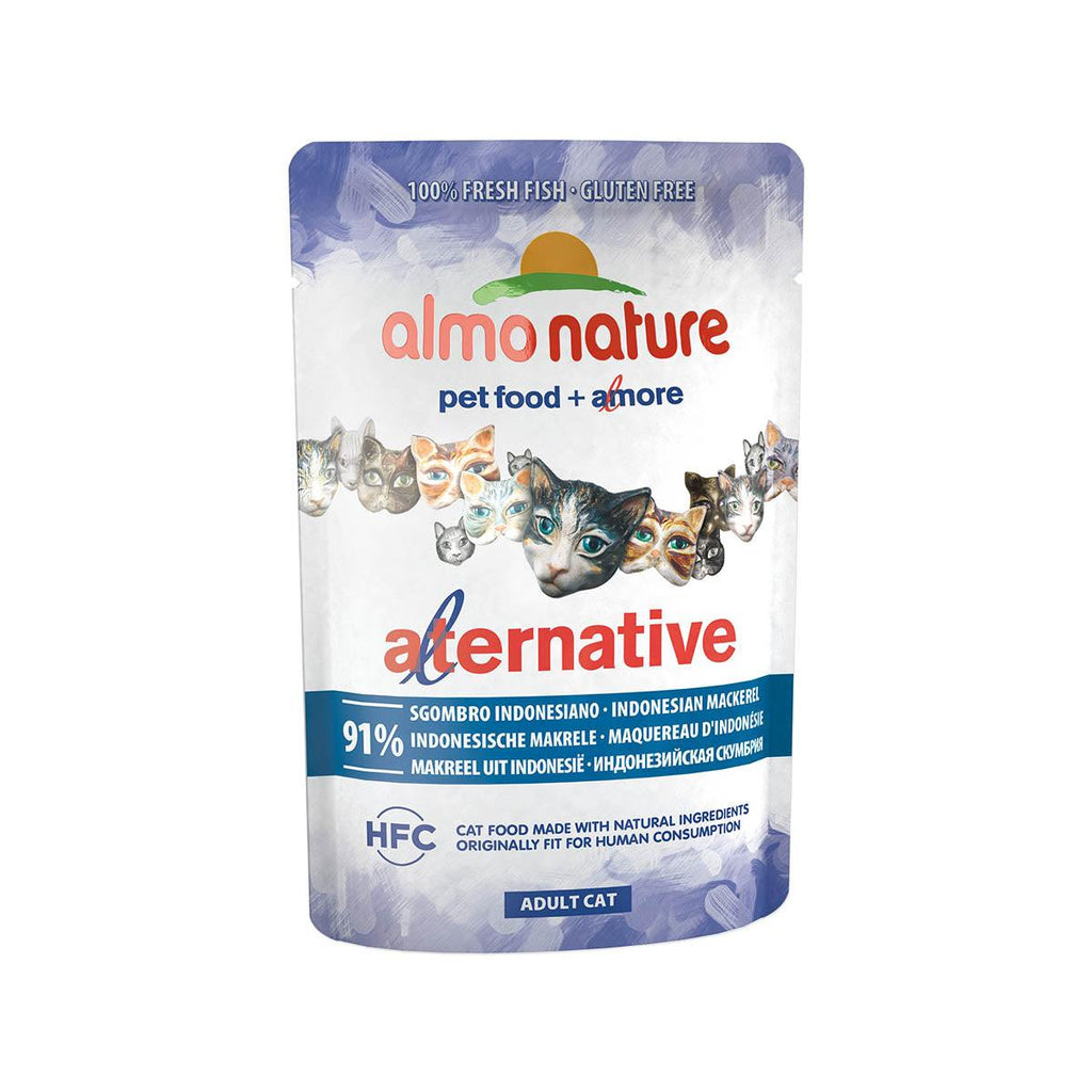 Almo Nature (4706) Cat 55g Indonesian Mackerel