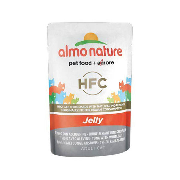 Almo Nature (5043) Cat Jelly 55g Tuna With Whitebait