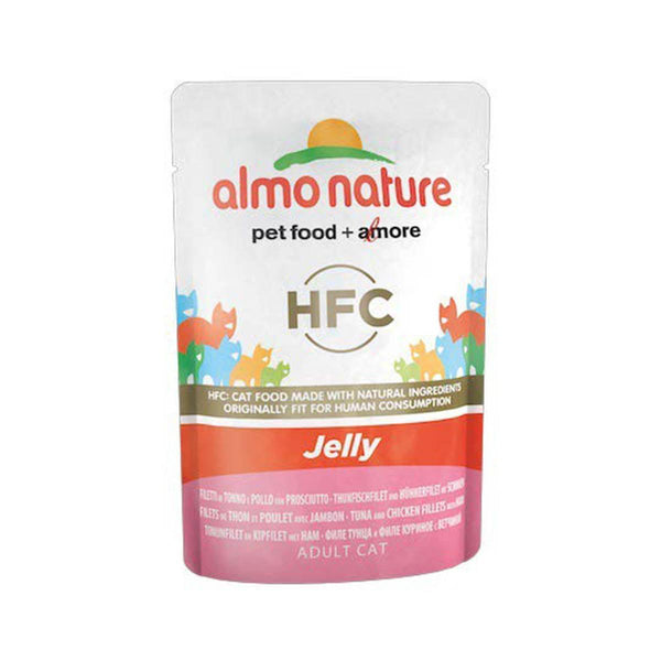 ALMO NATURE (5044) Cat Jelly 55g Tuna and CK Fillet w/ Ham