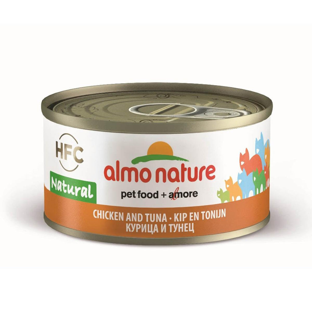 Almo Nature (9025) Cat 70g Tuna & Chicken