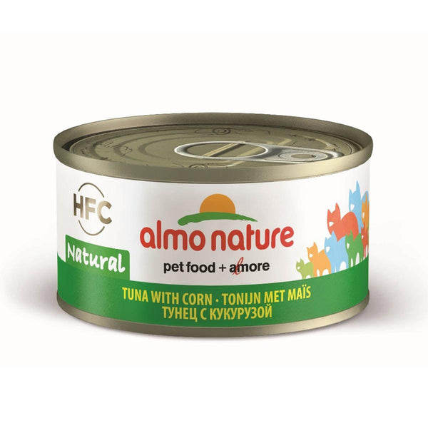 ALMO NATURE (9033) Cat 70g Tuna & Corn