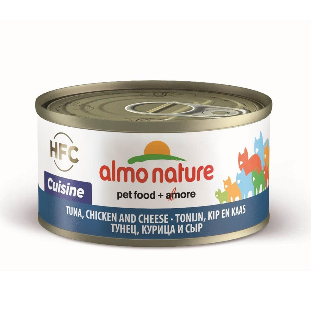 Almo Nature (9080) Cat 70g Tuna, Chicken & Cheese