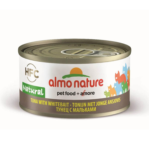 Almo Nature (9084) Cat 70g Tuna W/ White Bait