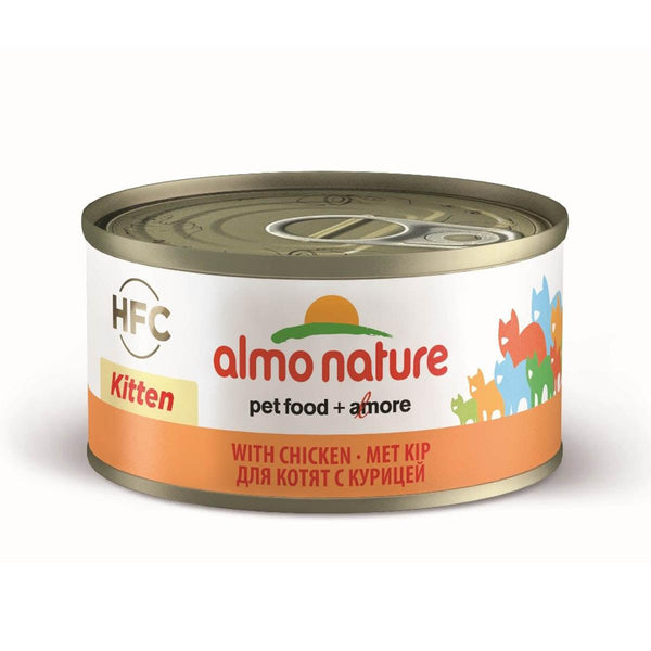 ALMO NATURE (9105) Kitten 70g Chicken