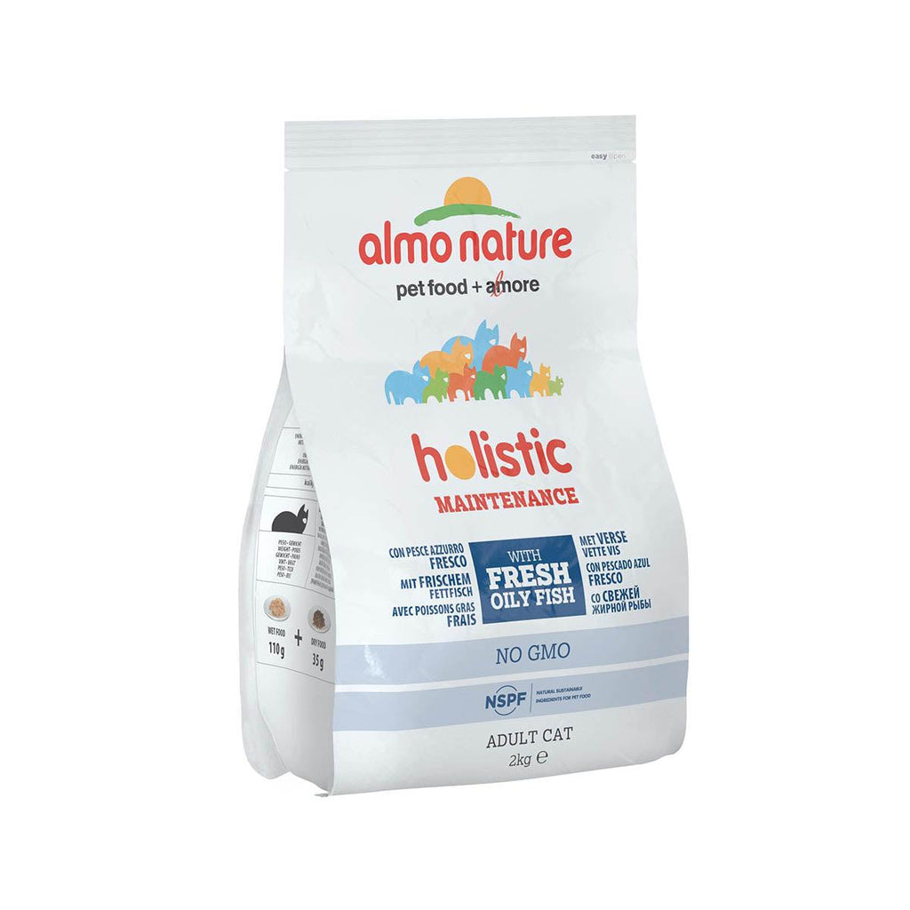 ALMO NATURE (624) Cat Holistic 2kg Oily Fish