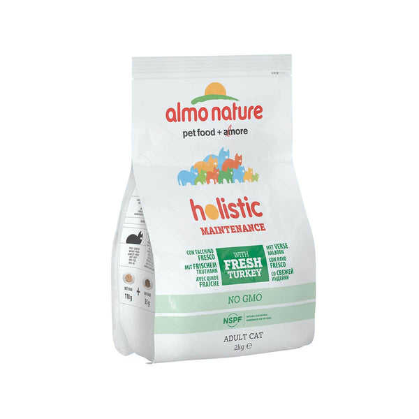 ALMO NATURE (627) Cat Holistic 2kg Turkey