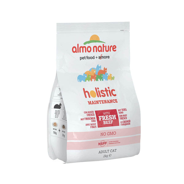 ALMO NATURE (628) Cat Holistic 2kg Beef