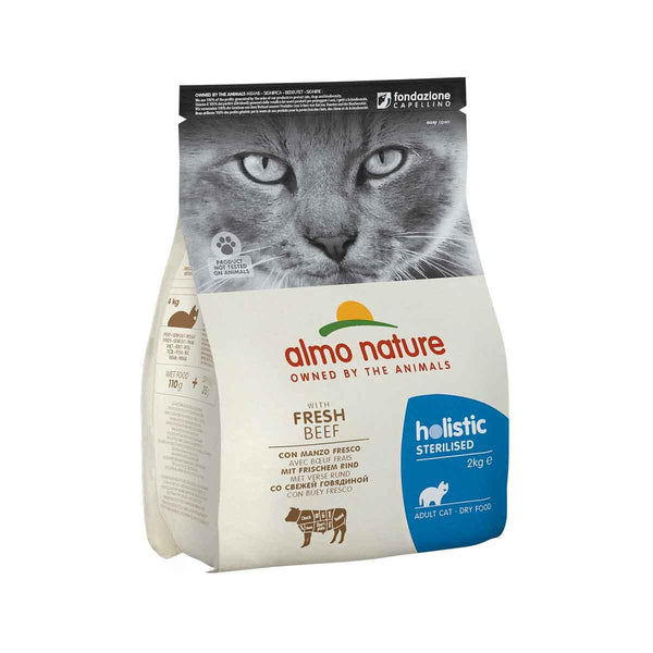 ALMO NATURE (670) Cat Sterilised 2kg Beef