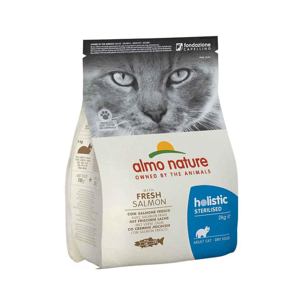 ALMO NATURE (671) Cat Sterilised 2kg Salmon