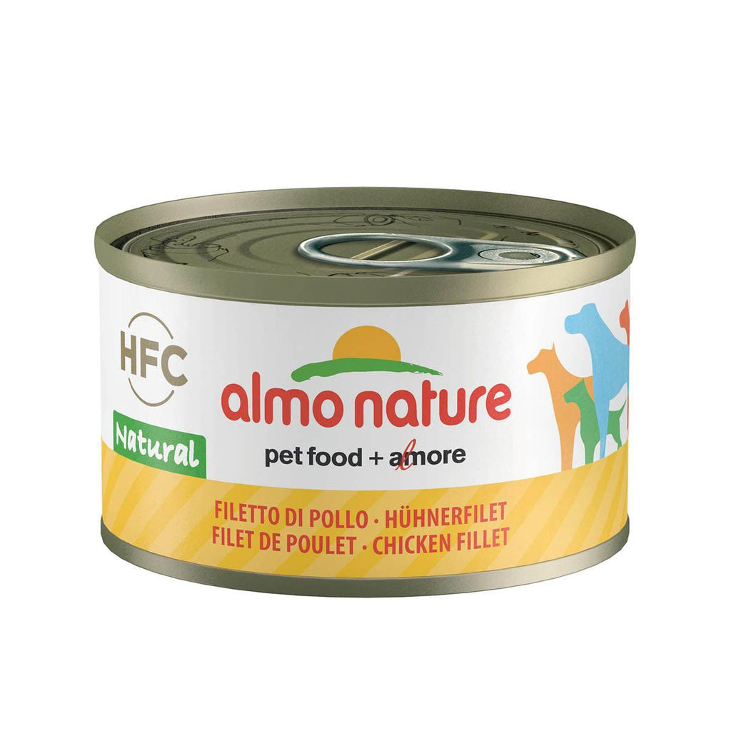 ALMO NATURE (5500) Dog 95g Chicken Fillet