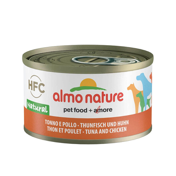 ALMO NATURE (5542) Dog 95g Chicken & Tuna