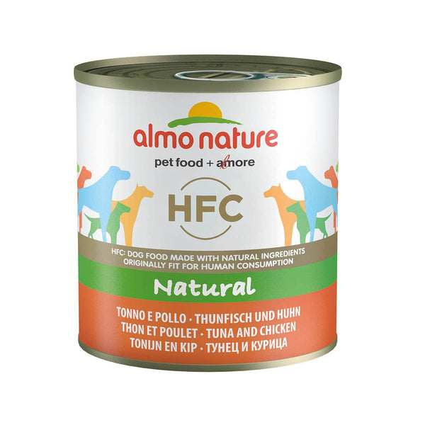 ALMO NATURE (5522) Dog 290g Chicken & Tuna