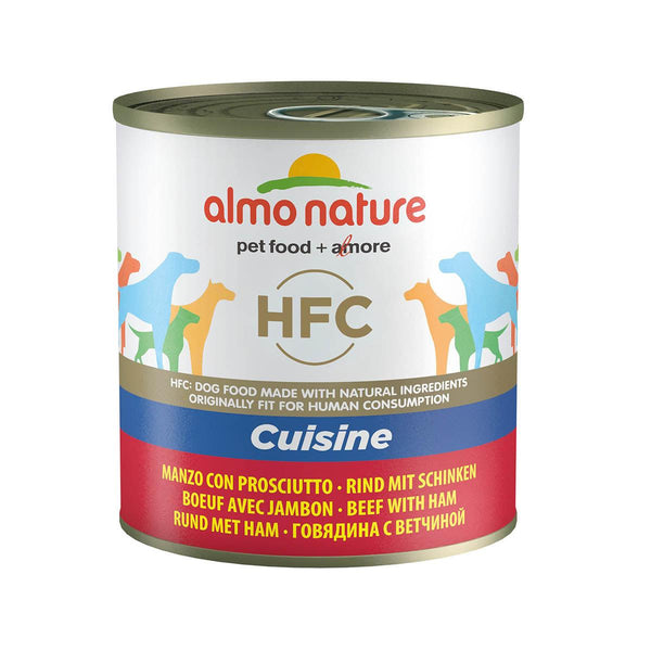 ALMO NATURE (5525) Dog 290g Beef & Ham