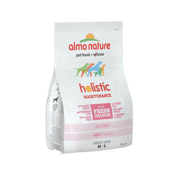 Almo Nature (735) M/L Dog Holistic 2kg Salmon