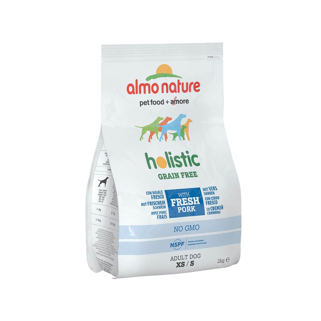 Almo Nature (775) XS/S Grain Free 2kg - Pork & Potatoes