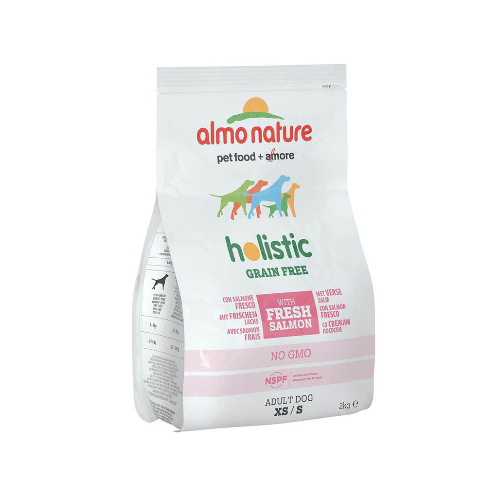 ALMO NATURE (776) XS/S Grain Free 2kg Salmon & Potatoes