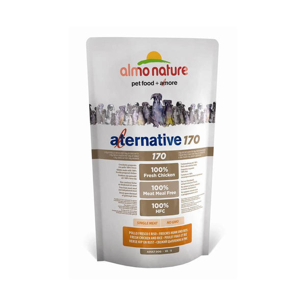 Almo Nature (952) Dog Alternative 170 XS/S 750g Fresh Chincken