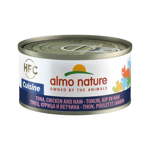 ALMO NATURE (9081) Cat 70g Tuna, Chicken & Cheese