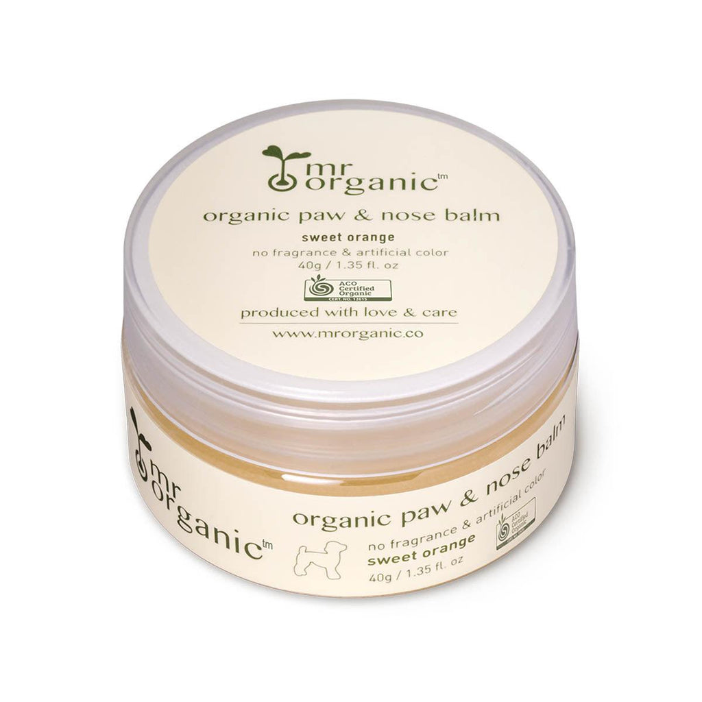 MRORGANIC Paw & Nose Balm - Sweet Orange  (40g)