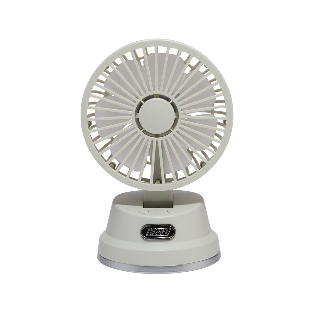 TOFFY Table Aroma Fan – Ash White