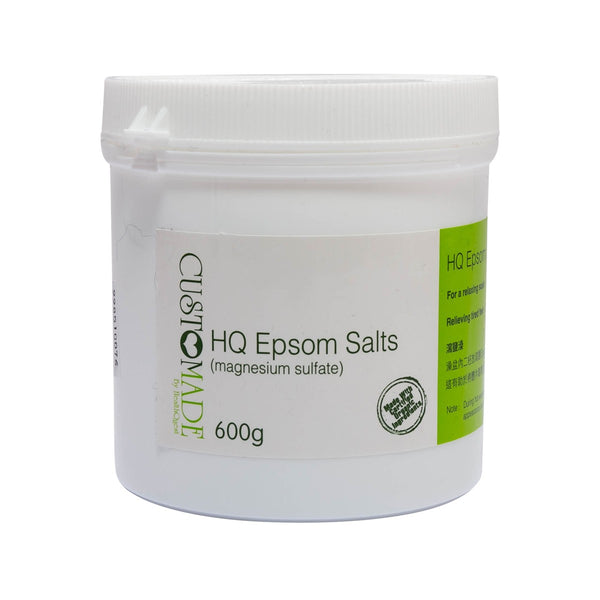 HEALTHQUEST Custmade Epsom Salt  (600g)