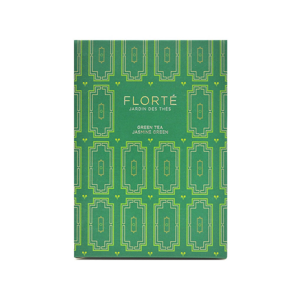 FLORTE Tea Bag - Jasmine Green  (15 x 1.5g)
