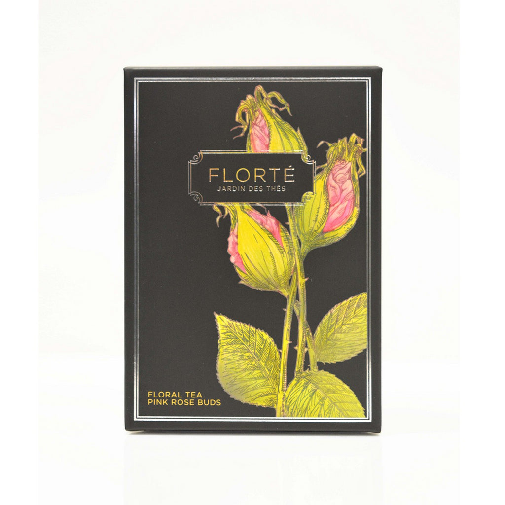 FLORTE Tea Bag - Pink Rose Buds  (15 x 1.5g)