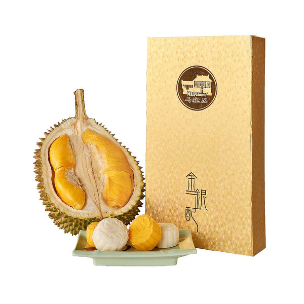 MALI HOME Mix of Musang King and D24 Snowy Skin Moon Cake Voucher