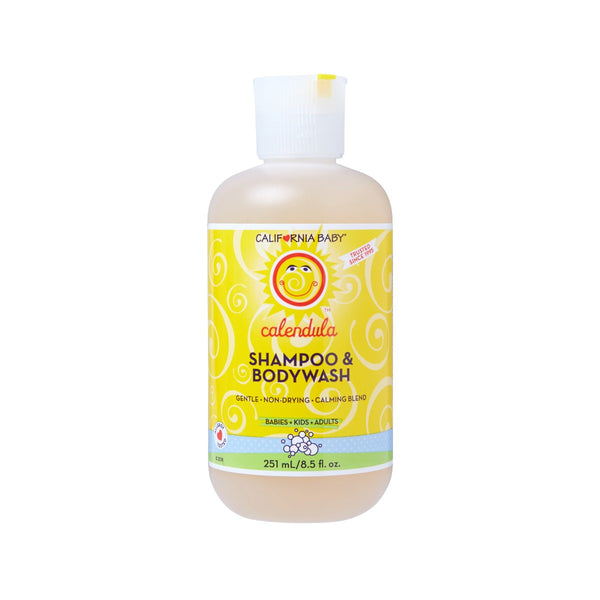 HEALTHQUEST CALIFORNIA BABY Shampoo & Body Wash - Calendula  (251mL)