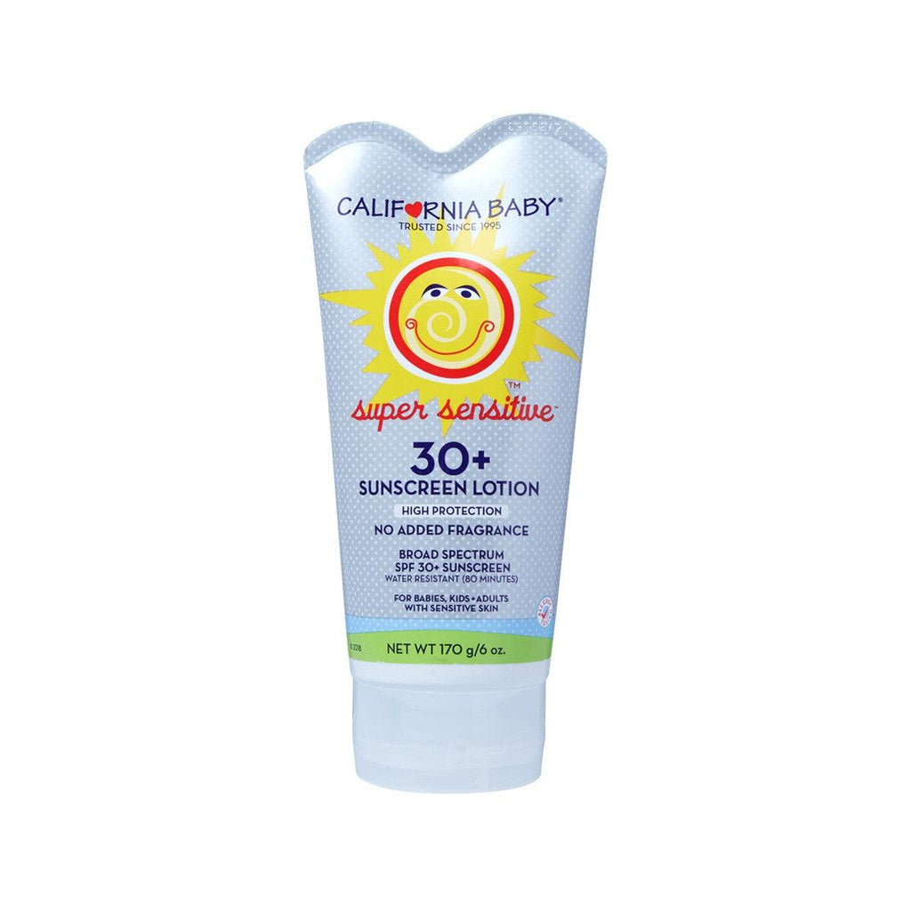HEALTHQUEST CALIFORNIA BABY SPF30+ Sunscreen Lotion - Super Sensitive  (170g)