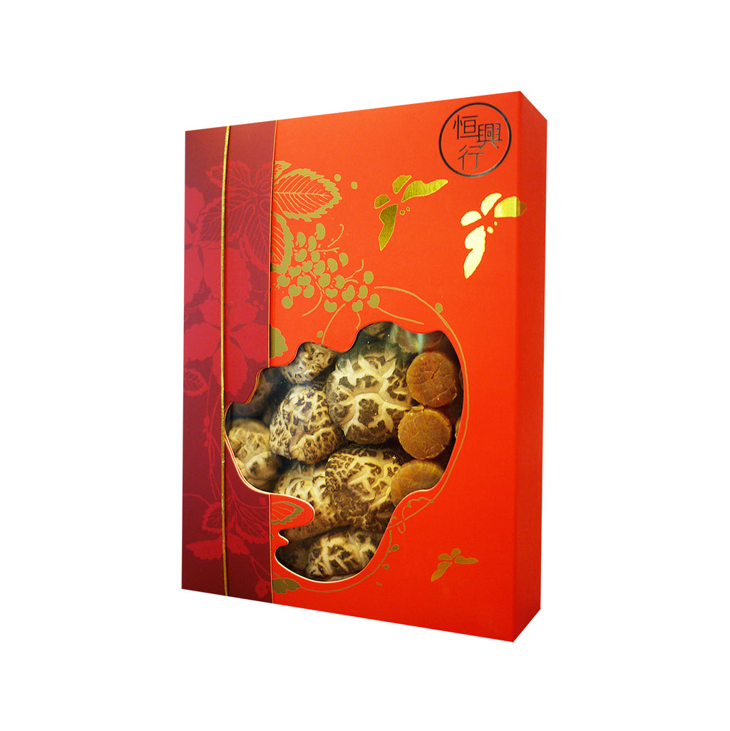 HANG HING Shiitake Mushroom & Dried Scallop Gift Box  (250g)