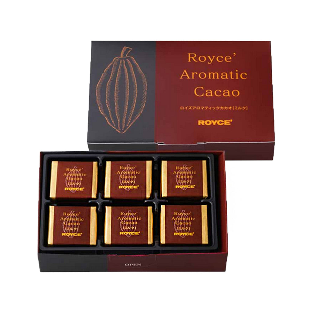 ROYCE' Aromatic Cacao Chocolate - Milk  (120g)