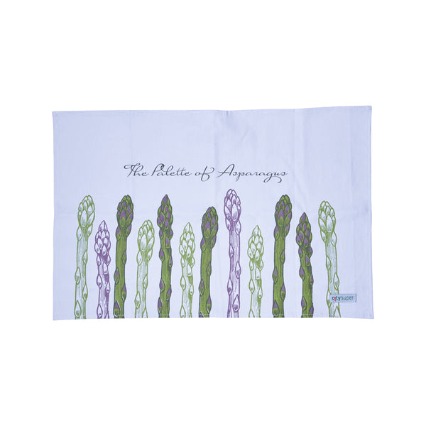 CITYSUPER Cotton Tea Towel (40x60cm)-Asparagus