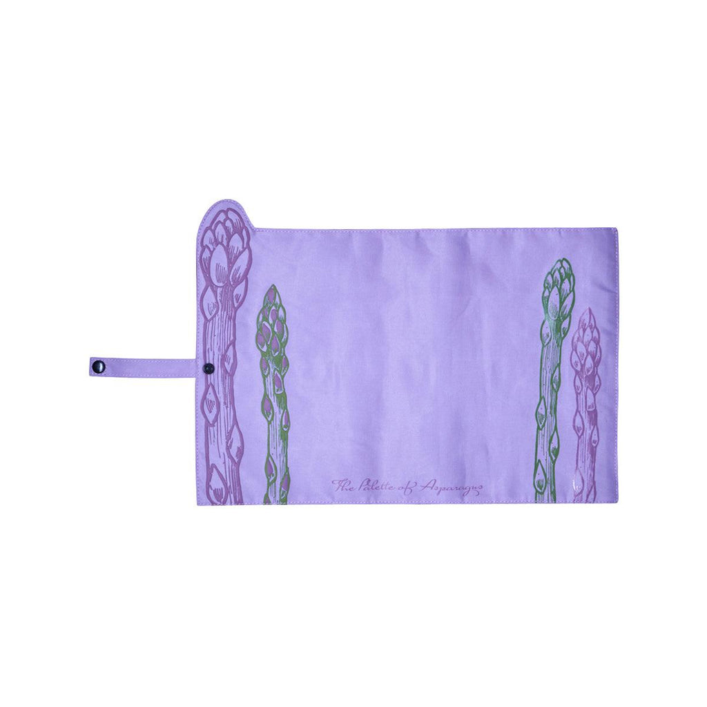 CITYSUPER Asparagus Roll-Up Table Mat (40x26cm)-Purple