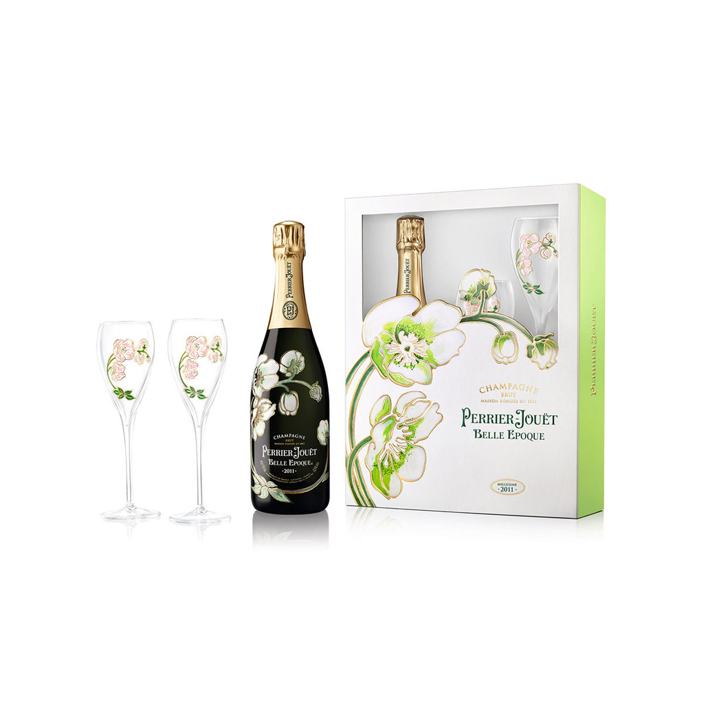 PERRIER JOUET Belle Epoque with Flutes NV (750mL)