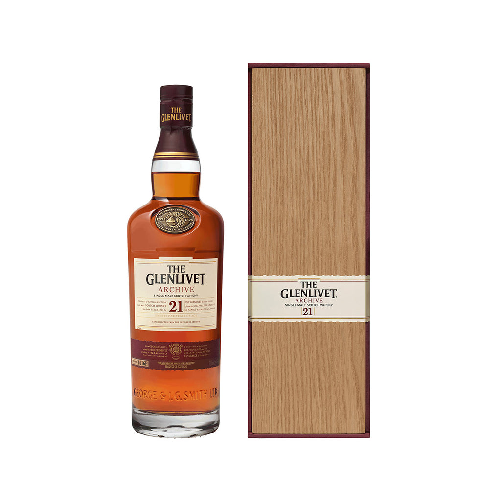 GLENLIVET 21 Year Old Single Malt Whisky  (700mL)