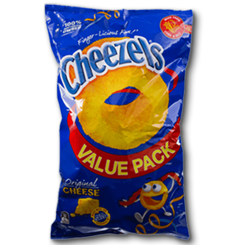 CHEEZELS Original Cheese Flavoured Snacks Value Pack  (190g)