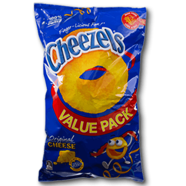 Cheezels Original Cheese Flavoured Snacks Value Pack(190g)
