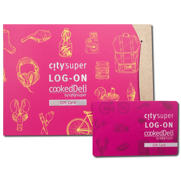 city'super Gift Card (Fixed Value: HKD 500)